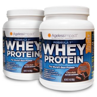 Chocolate Whey Protein - 2 Pack