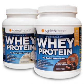Whey Protein Choc & Vanilla - 2 Pack
