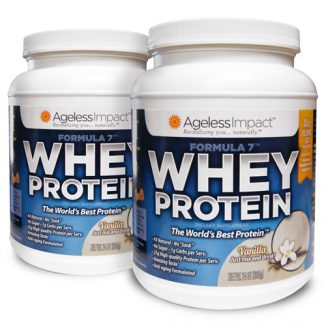 Vanilla Whey Protein - 2 Pack
