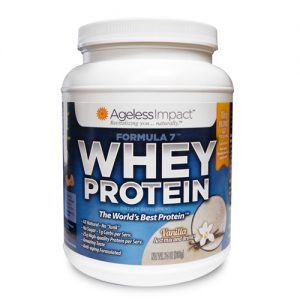 Vanilla Whey Protein - Single