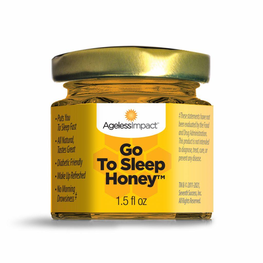 Ageless Impact Go To Sleep Honey with Melatonin