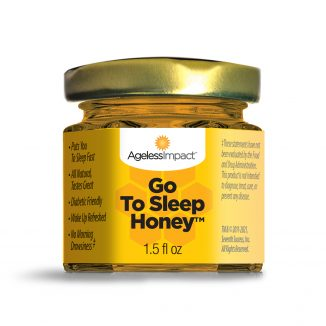 Ageless Impact Go To Sleep Honey Natural Sleep Aid