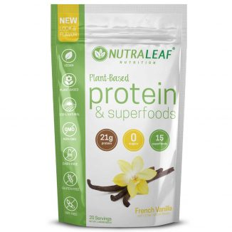 ageless impact Nutraleaf Protein Vanilla