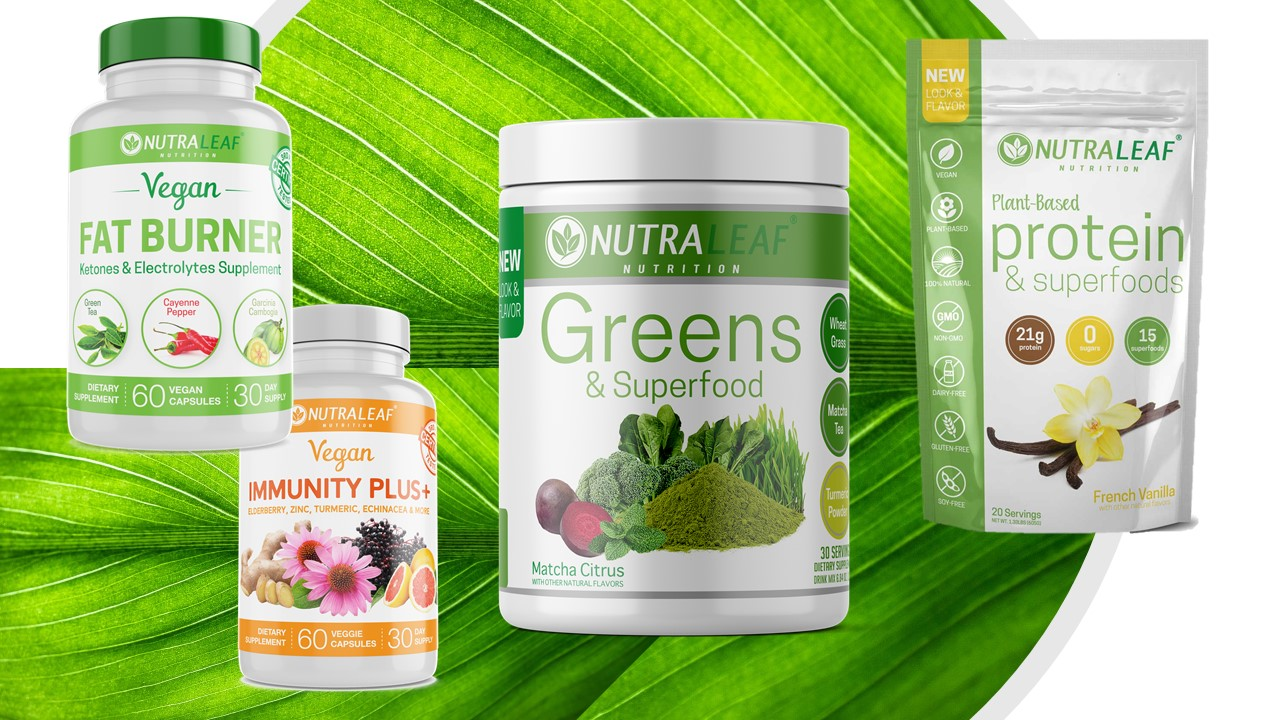 ageless impact nutraleaf products
